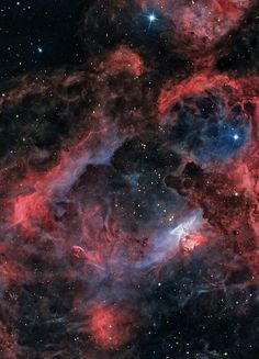 Emission Nebula in Scorpio - ngc6357 by EddieTrimarchi on Flickr.
