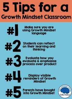 The ingredients you need for a growth mindset classroom