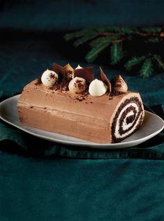 Bûche trois chocolats | RICARDO