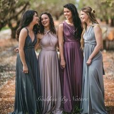 What a happy gorgeous pic!  In love with this stunning soft colour palette tones of our award winning Australian made Goddess By Nature signature ballgowns all worn and styled different ways which one is your favourite colour? Perfect for bridal, formal, red carpet and special occasion wear  Styled shoot by stockist Carla Jane Shop  Vision House Photography  www.goddessbynature.com info@goddessbynature.com For your nearest Stockists worldwide  #1dressmanyways #wholesalefashion