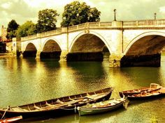 River Thames, Richmond-Upon-Thames - U. Richmond Upon Thames, River Thames, Wonderful Places, Countries, Planets, My Photos, Places To Visit, Community, Vacation