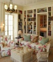 Beautiful french country living room you should try 04