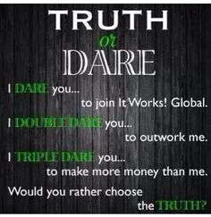 Let's get to work!!! Dare you to just take a look at www.beglamorousgettingfit.com