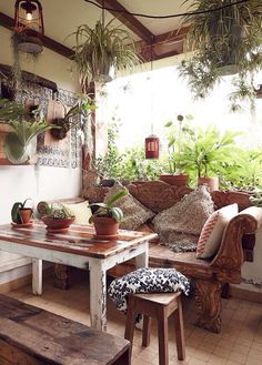 #wood & nature patio ideas