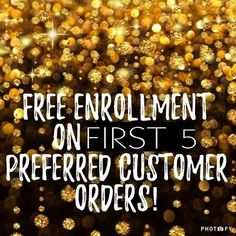Don't miss out! Free enrollment for the first 5 preferred customers. Offer ends 3/1/17. Message me on Pinterest @ R+Fskincare101 for more info.