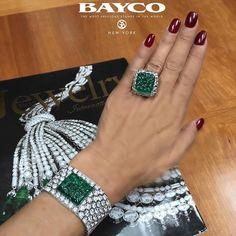 1,918 отметок «Нравится», 16 комментариев — Bayco Jewels (@baycojewels) в Instagram: «We bring you the finest selection of carved emeralds, expertly set in #BaycoJewels exclusive…»