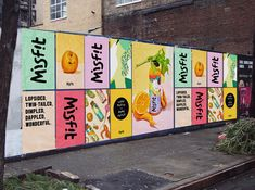 food waste campaign Misfit is the Juice Thats Putting An End to Food Waste Corporate Design, Corporate Identity, Identity Design, Visual Identity, Identity Branding, Cafe Branding, Personal Identity, Event Branding, Juice Branding