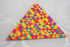 Triangle Patchwork | POLYMÈRE CLAY PATCHWORK 2016 | A propos de (Polymer) terrer…