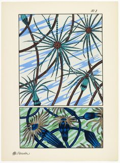 Art deco patterns from Oceanic Fantasies, by E H Raskin, Art Nouveau, Art Deco, Pattern Drafting, Beautiful Patterns, Tarot, Tapestry, Architecture, Frame, Inspiration