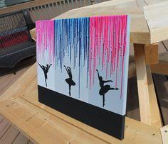 Artículos similares a Sample Style 4 - Ballerina silhouettes en Etsy