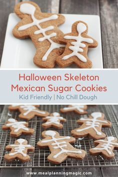 My Halloween Mexican Chocolate Sugar Cookies have a delicious hint of spice and are so fun! The no-chill dough means and simple decorating means they're quick and easy to make, too. #halloweenfood #halloween #easyrecipe #nochillsugarcookie #mexicanchocolate #easycookierecipe Chocolate Sugar Cookies, Chocolate Brownies, Peanut Butter Cookies, Mexican Chocolate, Chocolate Dipped, Easy Cookie Recipes, Dessert Recipes, Desserts, Magic Recipe