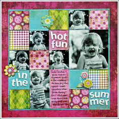 A Project by Kelly Goree from our Scrapbooking Gallery originally submitted 05/20/09 at 08:18 AM