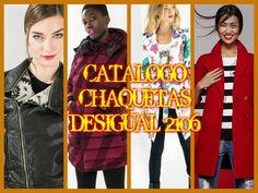 CATALOGO DESIGUAL CHAQUETAS MUJER 2016