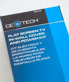 kit to use to hide the cords on a wall mounted TV