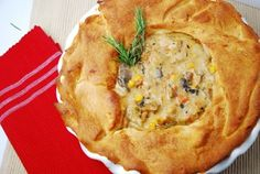 Light Chicken Pot Pie Recipe – 4 Points + - LaaLoosh