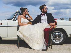 Mademoiselle De Guise - Créatrice de robes de mariée | Modèle: Cécilia | Crédits: Ce jour-là| Donne-moi ta main - Blog mariage ---  #Mariage #RobesDeMariee #WeddingDresses #Wedding #mariage #Brides #bride #mariee #FutureMariee #boheme #MariageBoheme #MariageChic #MariageRock #Rock #Paris #CreariceDeRobesDeMariee #MademoiselleDeGuise