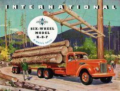 International Model K-8-F truck