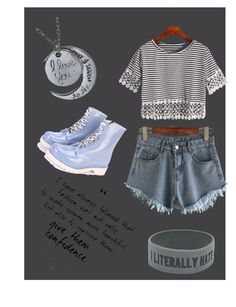"""""""Be different ;)"""" by eldina-salihovic ❤ liked on Polyvore featuring WithChic"""