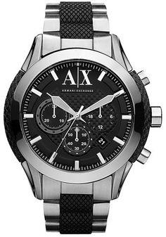 AX Armani Exchange Chronograph Bracelet Watch, 47mm