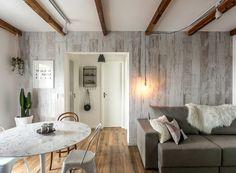 apartamento-escandinavo-Studio-Boscardin-Corsi-area-social-madeira-sofa-mesa-de-jantar (Foto: Eduardo Macarios)