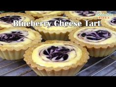 (41) Blueberry Cheese Tart | MyKitchen101en - YouTube