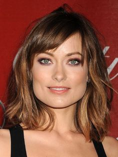 haircut of hairstyle inspiration- Olivia Wilde No ponytail and no HUGE forehead.hairstyle inspiration- Olivia Wilde No ponytail and no HUGE forehead. Haircut For Square Face, Square Face Hairstyles, Square Face Short Hair, Hairstyles For School, Messy Hairstyles, Karlie Kloss Haircut, Medium Hair Styles, Curly Hair Styles, Celebrity Hairstyles
