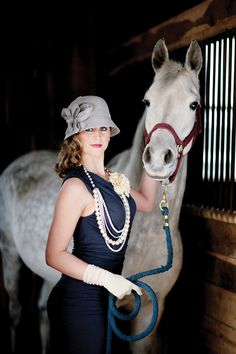 Kentucky Derby! this outfit with a MUCH bigger hat, a pair of heels and a mint julep :)