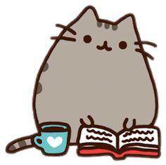 Popular and Trending pusheen Stickers on PicsArt Chibi Kawaii, Kawaii Cat, Nyan Cat, Pusheen Book, Pusheen Stickers, Pusheen Stormy, Cute Kawaii Animals, Cute Kawaii Drawings, Kawaii Wallpaper