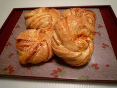 日法混合風的甜薯泥麵包