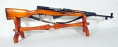 "Norinco SKS 7.62x39 with Wood Stock 20.5"". Semi-auto rifle from Nornico, for 7.62x39 rounds. With classic wooden stock. Includes leather shoulder strap. 20.5"" barrel. $299.00"