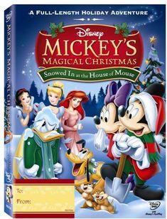 Mickey's Magical Christmas DVD