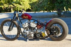 Harley Davidson Shovelhead 1951 By Crown Customs Inc