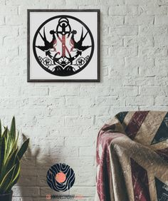 Sailor Tattoo - Art and wall decor on vinyl record