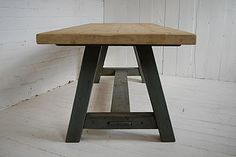 Natural Wooden Dining Table
