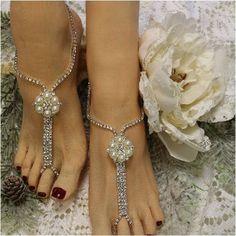 PARIS CHIC barefoot sandals