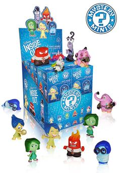 Mystery Minis Blind Box: Inside Out   Funko