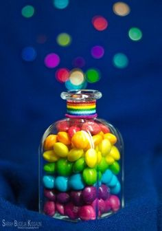 """'Bottle of Rainbow' Can you taste the rainbow? Rainbow Food, Love Rainbow, Taste The Rainbow, Over The Rainbow, Rainbow Colors, Rainbow Candy, Rainbow Sweets, Rainbow Stuff, Rainbow Rocks"