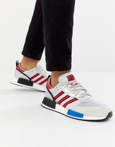 6daeb3dc4 adidas Originals Never Made Rising Star limited edition sneakers in silver