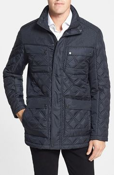 Marc New York by Andrew Marc 'Patton' Quilted Field Jacket available at #Nordstrom