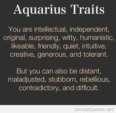 Aquarius♒ If my bff is any indication, this is troof! Aquarius Daily, Aquarius Traits, Astrology Aquarius, Aquarius Love, Aquarius Quotes, Aquarius Woman, Zodiac Signs Aquarius, Zodiac Star Signs, Aquarius Art