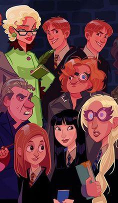 Si Harry Potter avait droit à sa série animée 07