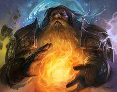 Arvos Jadestone - Dwarf Shaman by ~Nightblue-art