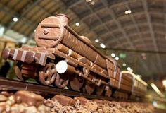 steam train cakes - Google Search
