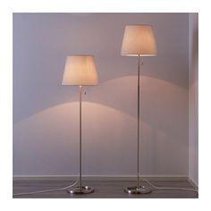 IKEA NYFORS floor lamp The height is adjustable to suit your lighting needs.