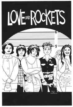 Love and Rockets by Gilbert Hernandez
