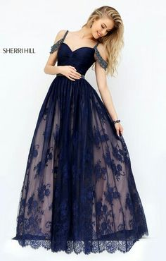 Sherri hill 50595 tulle prom dress, lace prom dresses, vintage dresses for teens, Straps Prom Dresses, A Line Prom Dresses, Tulle Prom Dress, Homecoming Dresses, Maxi Dresses, Lace Dress, Party Dress, Sherri Hill Prom Dresses, Prom Party