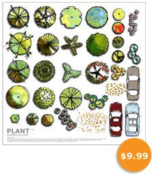 Plant Symbol Library One