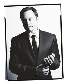 Elon Musk. Visionnaire and genious.