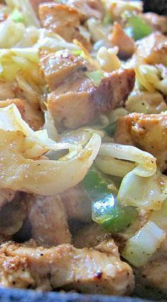 Chicken and Cabbage Stir-Fry Skillet