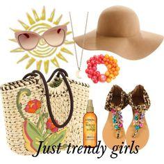 Beach fashion accessories   Just Trendy Girls